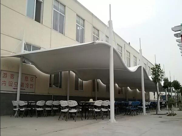 小区膜结构雨棚