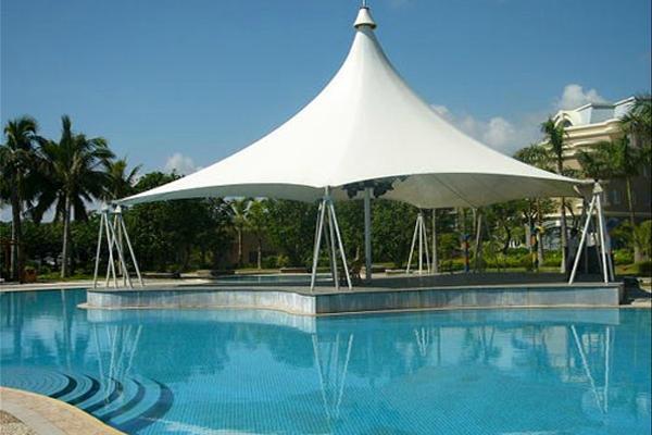 泳池景观膜结构
