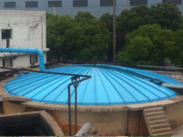 垃圾污水池膜结构罩棚