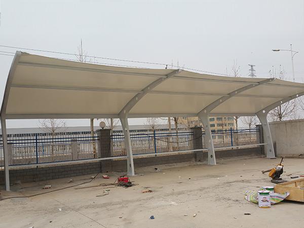 宜阳县英开电气膜结构车棚
